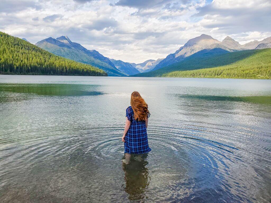 Glacier National Park - Bowman Lake